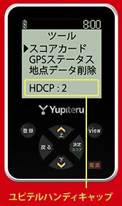 YGN3100のハンディキャップ