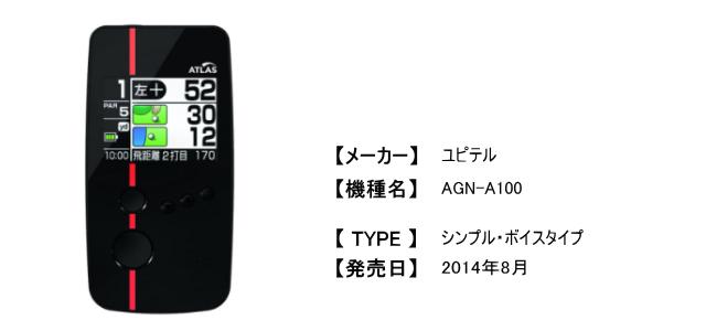 ユピテル AGN-A100