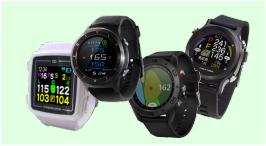 腕時計タイプのGPSゴルフナビ